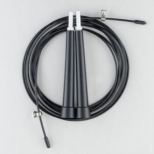 Super Speed Cable Jump Rope (Black)