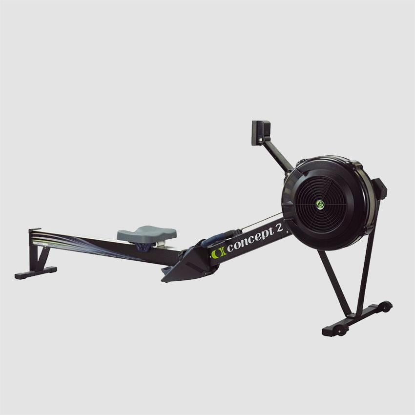 concept 2 model d rower pm5 black eluir. Black Bedroom Furniture Sets. Home Design Ideas