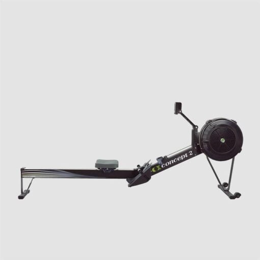 Concept 2 Rower - Model D - Black - Side View