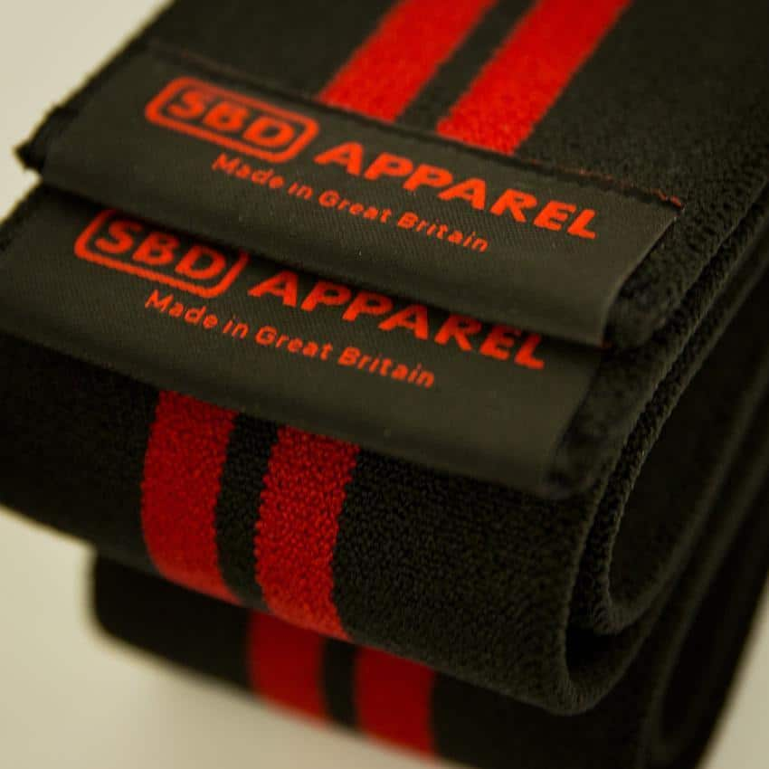 SBD Competition Knee Wraps - Detail 2