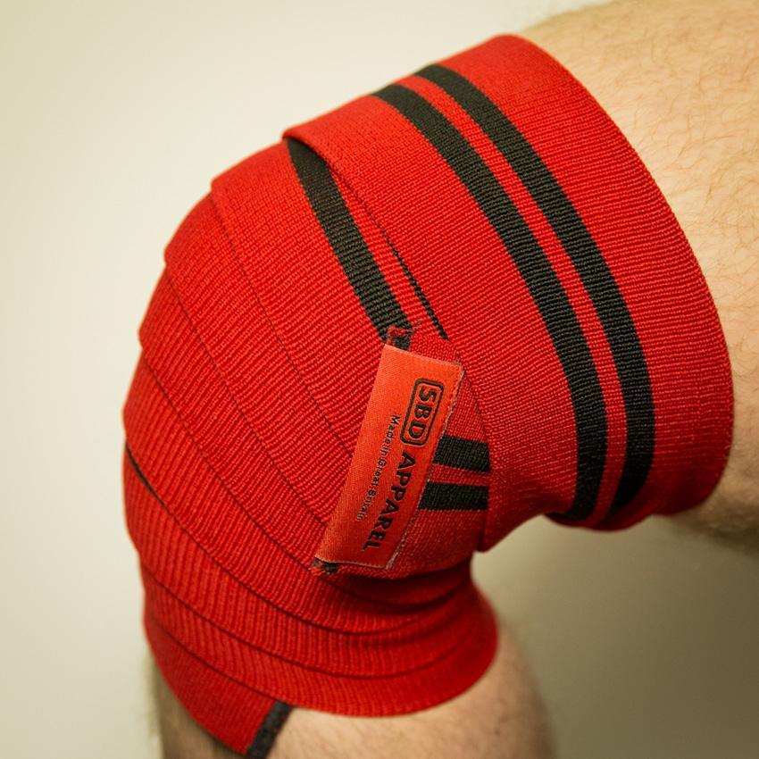 SBD Training Knee Wraps - Detail 1