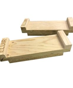 wooden deadlift blocks